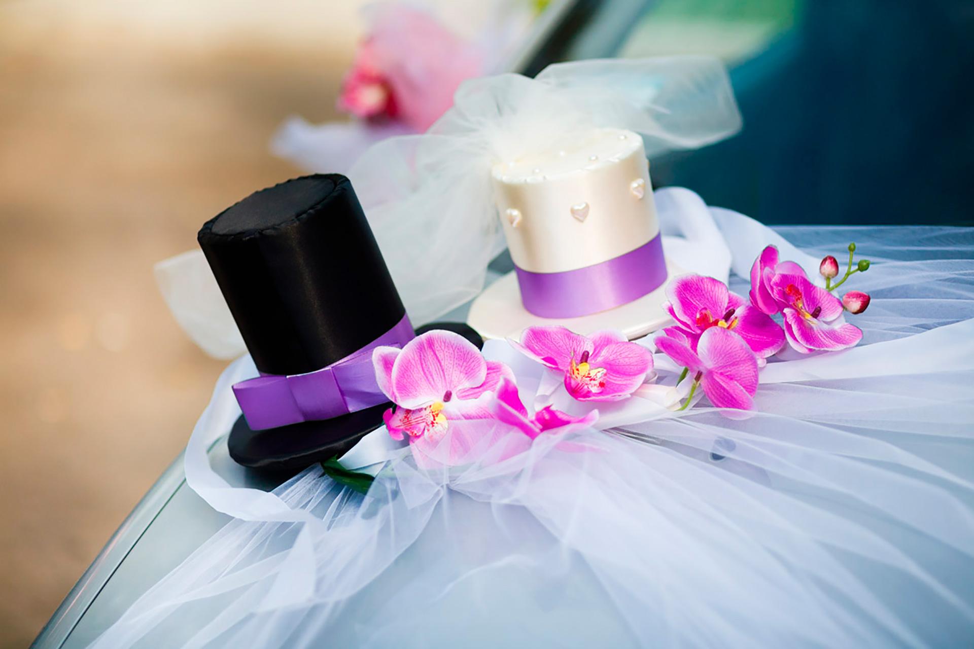 Аренда украшений<br> для вашего свадебного кортежа